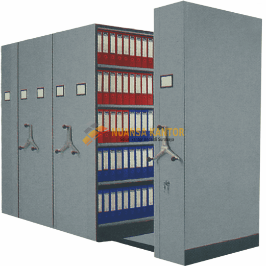 Mobile File Mekanik System VIP MFA-4BS185 (16 Comp)