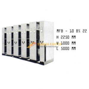 Mobile File Brother MFB – 10 BS 22 (40 Compartments)