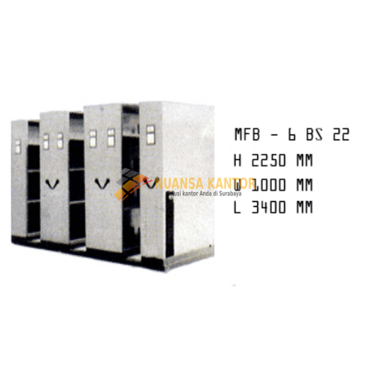 Mobile File Brother MFB – 6 BS 22 (30 Compartments)