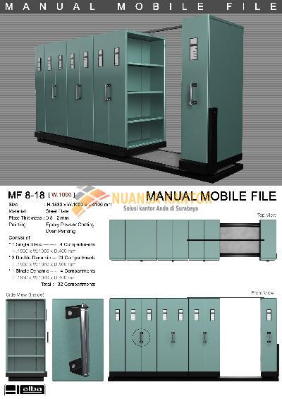 Mobile File System Manual Alba MF-8-18 (32 CPTS)