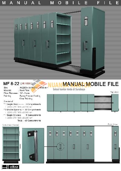 Mobile File System Manual Alba MF-8-22 (40 CPTS)