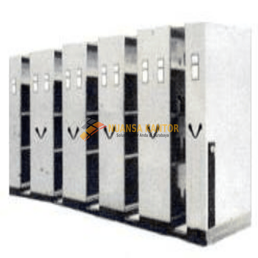 Mobile File Manual Brother MFB-12 BS 22 (60 Compartments)
