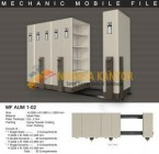 Mobile File Alba Mekanik MF AUM 1-02 ( 30 Compartments )