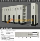 Mobile File Alba Mekanik MF AUM 1-04 ( 50 Compartments )