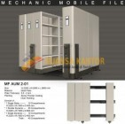 Mobile File Alba Mekanik MF AUM 2-01 ( 40 Compartments )