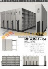 Mobile File Alba Mekanik MF Aum 4-04 ( 200 Compartments )